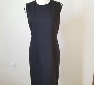 Talbots Women's Petites Black Sleeveless Dress